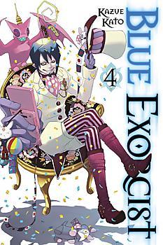 Blue Exorcist Manga Vol.   4