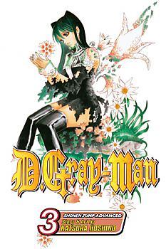 D Gray-man Manga Vol.   3