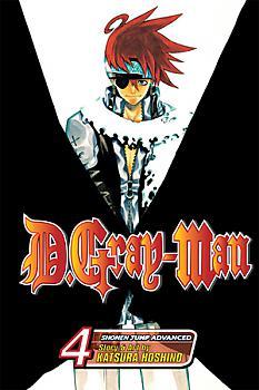 D Gray-man Manga Vol.   4