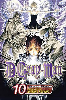 D Gray-man Manga Vol.  10