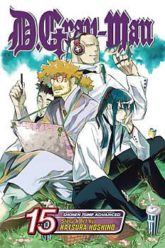 D Gray-man Manga Vol.  15