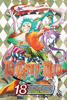 D Gray-man Manga Vol.  18
