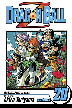 Dragon Ball Z Manga Vol.  20