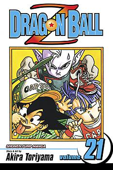 Dragon Ball Z Manga Vol.  21