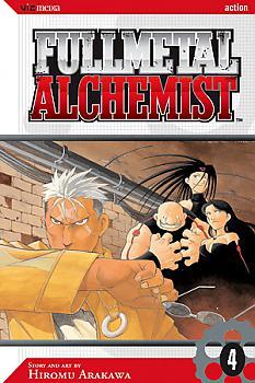 FullMetal Alchemist Manga Vol.   4