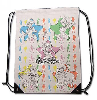 Sailor Moon Drawstring Backpack - Sailor Soilders