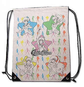 Sailor Moon Drawstring Backpack - Sailor Soilders