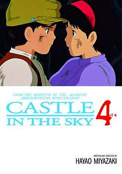 Castle in the Sky Manga Vol.   4