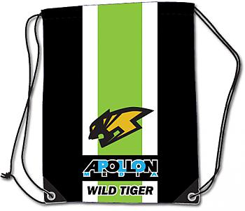 Tiger & Bunny Drawstring Backpack - Wild Tiger Logo Cinch