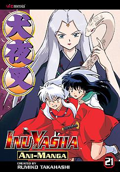 Inuyasha Ani-Manga Manga Vol.  21