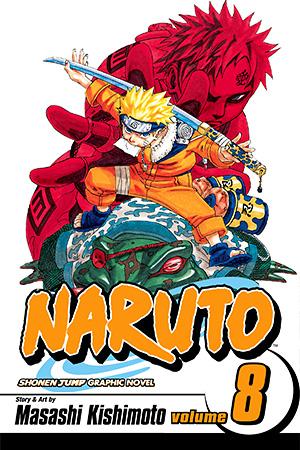Naruto Manga Vol. 8 @Archonia_US