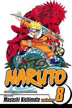 Naruto Manga Vol.   8