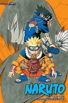 Naruto Omnibus Manga Vol.   3