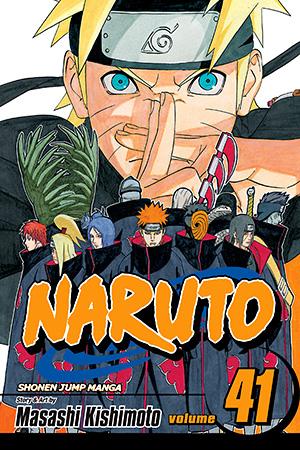 Naruto Shippuden Manga Vol  41