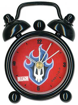 Bleach Desk Clock Mini - Flamming Skull