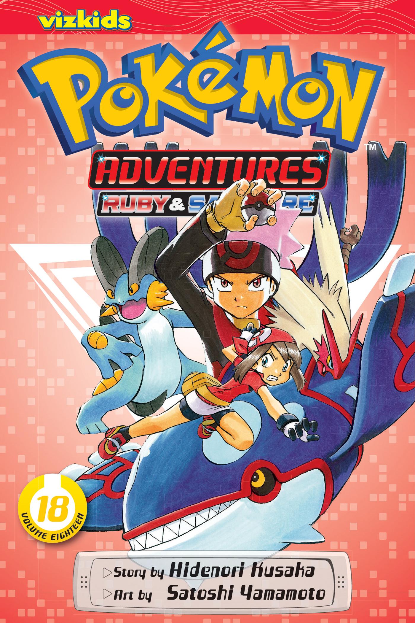 Pokemon Adventures Manga Vol. 18 @Archonia_US