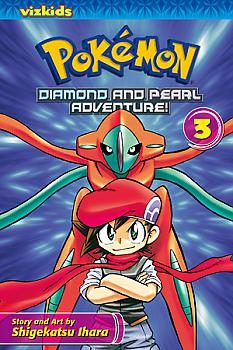 Pokemon Diamond and Pearl Manga Vol.   3