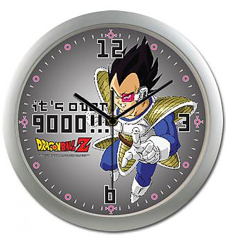Dragon Ball Clock - Vegeta It's Over 9000!!!