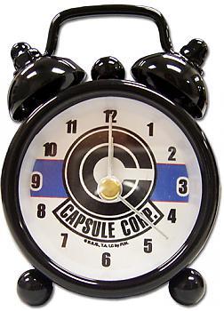 Dragon Ball Z Desk Clock Mini - Capsule Corp
