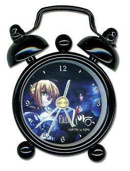 Fate/Zero Desk Clock Mini - Saber and Kiritsugu