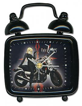 Fate/Zero Desk Clock Mini - Saber on Motorcycle