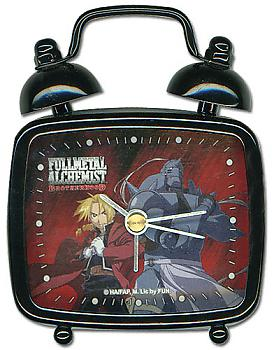 FullMetal Alchemist Brotherhood Desk Clock Mini - Ed & Alphonse Elric