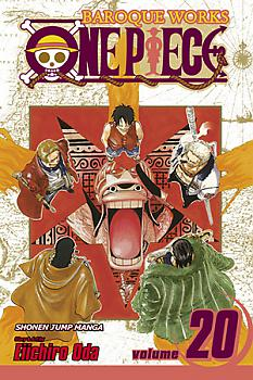 One Piece Manga Vol.  20