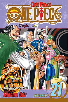 One Piece Manga Vol.  21