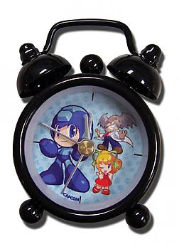 Mega Man Desk Clock Mini - Group