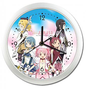Puella Magi Madoka Magica Clock - Girls