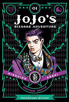 JoJo's Bizarre Adventure Part 1 Phantom Blood Manga Vol.   1
