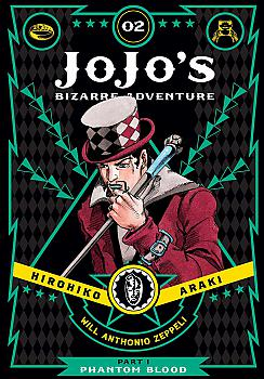 JoJo's Bizarre Adventure Part 1 Phantom Blood Manga Vol.   2