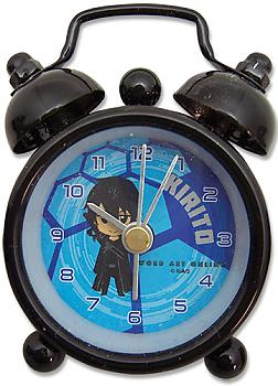 Sword Art Online Desk Clock Mini - SD Kirito