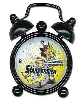 Star Driver Desk Clock Mini - Galactic Pretty Boy