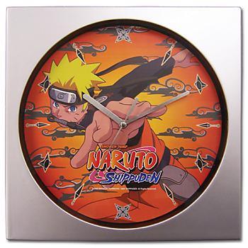 Naruto Shippuden Wall Clock - Naruto Jump Attack