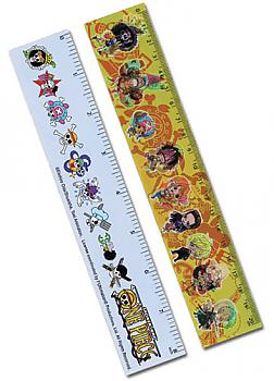 One Piece Ruler - Straw Hat Pirates Lenticular (Pack of 5)