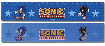 Sonic Ruler - Sonic & Shadow Lenticular (Pack of 5)
