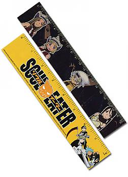 Soul Eater Ruler - Meisters & Weapon Lenticular (Pack of 5)