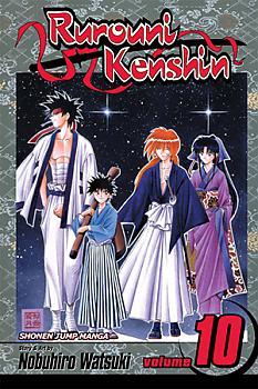 Rurouni Kenshin Manga Vol.  10