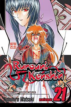 Rurouni Kenshin Manga Vol.  21