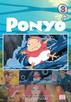 Ponyo on the Cliff by the Sea Manga Vol.   3