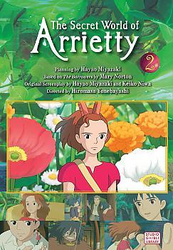 Secret World of Arrietty Manga Vol.   2