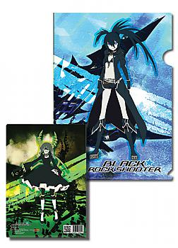 Black Rock Shooter File Folder - Black Rock and Dead Master (Pack of 5)