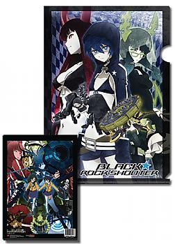 Black Rock Shooter File Folder - Group (Pack of 5)