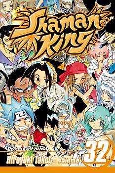 Shaman King Manga Vol.  32