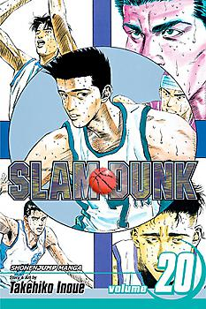 Slam Dunk Manga Vol.  20