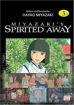 Spirited Away Manga Vol.   3