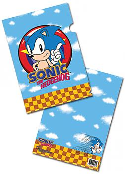 Classic Sonic File Folder - Sonic (Pack of 5)
