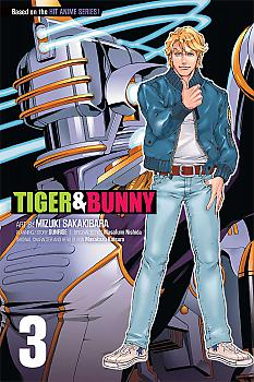 Tiger & Bunny Manga Vol.   3