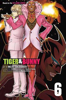 Tiger & Bunny Manga Vol.   6